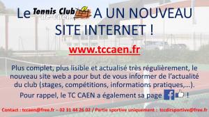 Le site sur lequel vous êtes actuellement est obsolète. --> www.tccaen.fr